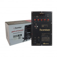 Amplificador Bomber DC 12Volts Bluetooth 60W RMS 4R 1 Canal