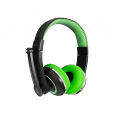 Fonde de Ouvido Headset RS-280PC Preto e Verde Roadstar