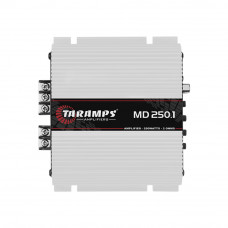 Amplificador Taramps MD250.1 Class D 1 Canal 250W RMS 2R