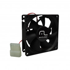 Ventilador Cooler Multilaser Sleeve Bearing 25º 1800 RPM
